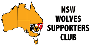 Welcome to the New Website for NSW Wolves Supporters Club